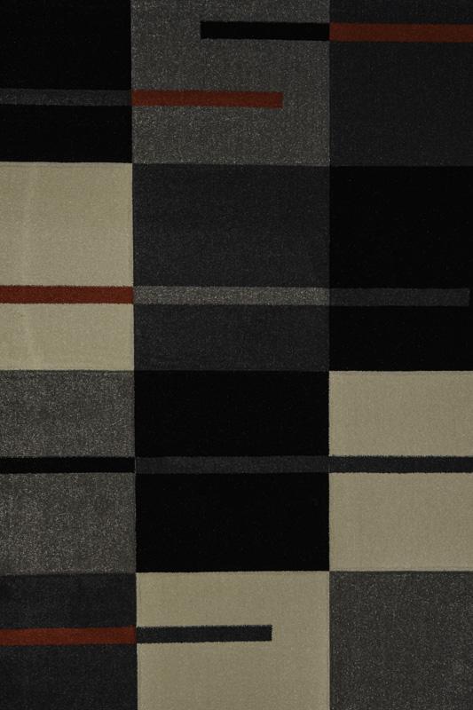 TWIST CARVINO 0979A L.GREY / BLACK
